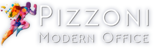 Pizzoni Modern Office Logo